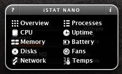 iStat Nano hover